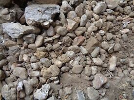 HARDCORE! Clean concrete hardcore-pebbles etc perfect for foundations for drives etc.FREE.