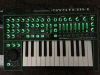 Roland System 1 Synthesizer - Hardly used, boxed, manuals, valid Plug-Out discount card