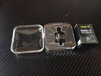 Aspire Nautilus X Tank & 4ml Adapter Kit & Coils Black Vape Tank