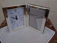 Clock and frame