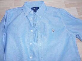 Ralph Lauren Boys Oxford Shirt - Worn Once Age 14/16