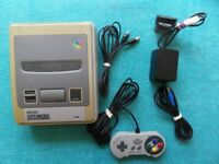 fully working CONSOLE - nintendo SNES - SNSP-001a