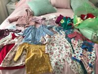 Baby girl clothes bundle 6-9 month