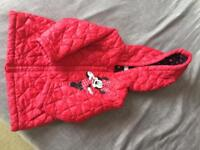 Girls Minnie Mouse jacket