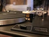 Pioneer PL-12D Hifi Turntable/ Record player With Shure M75ED