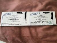 2x Stormzy tickets sheffield o2 academy bank holiday April 30th