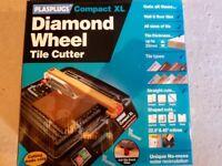 Plasplugs Compact XL Diamond Wheel Tile Cutter