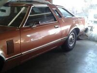 1977 Ford T Bird  Removable Tbar Roofs