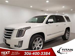 2015 Cadillac Escalade Premium|4X4|DVD|Bluetooth|Nav|Leather