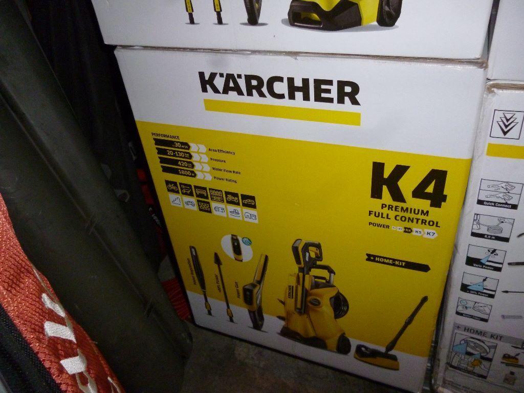 karcher k4 premium full control home pressure washer brand new sealed in box in bramley west. Black Bedroom Furniture Sets. Home Design Ideas