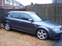 vw audi a4 avant estate 130 sport tdi/swap px vw golf/caddy modified