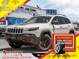 2019 Jeep New Cherokee ***COMPANY DEMO***TRAILHAWK***SAFETY TEC*