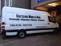 Dorton's man and van