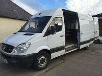 LWB Merc Sprinter Tyre/Fitter Van Fully Kited