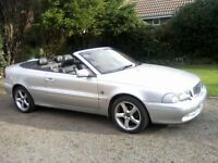 VOLVO C70 2-0 CONVERTIBLE. FULL SERVICE HISTORY, 12 MONTHS MOT, VERY ATTRACTIVE.