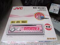 JVC PINK KD-SC01 CAR STEREO/RADIO