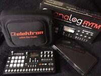MINT Elektron Analog Rytm with Warranty, NEW Elektron Bag+Dust cover