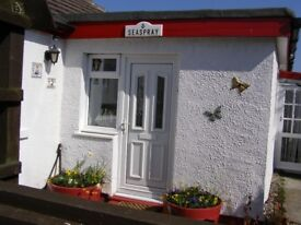 3 Bedroom detached bungalow with double garage, large private garden, may be sold fully furnished.