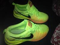 Neon air bubble trainers 7