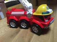 Matchbox large walker Fire Engine