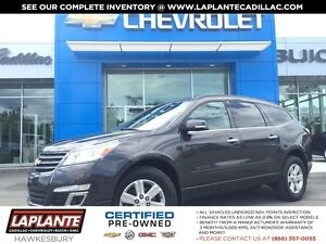 2013 Chevrolet Traverse One Owner + Heated Seats