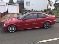 BMW 330 M SPORT IMOLA RED