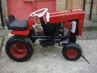 tractor bolens model 1250 petrol engine start on pull cord full drive