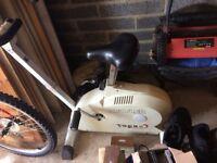 Kettler exercise bike good condition