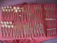 Bronze Cutlery - 90 pieces