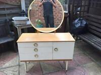 Dressing table and small unit