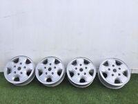 Genuine Ford MK6/MK7 Transit/Tourneo Alloy Wheels - freshly powder coated PCD 5x160