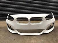 Bmw 1 series f20 M sport LCI 2015 2016 2017 Genuine white front bumper for sale
