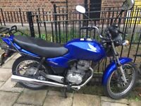 Honda CG 125-4/ Blue -2005-for sale