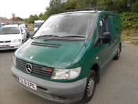 Mercedes - benz Vito, 2001, One Owner, Very Good Condition, 12 Months MOT, Twin Sliding doors,Towbar