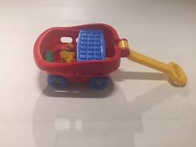 Lego Pull Along Cart