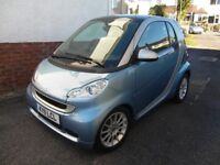Smart car,Passion,blue and siiver touch screen,sat nav,many extras