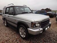 2003 Landrover Discovery 2, 4.0 V8 ES Automatic -FSH-7 Seats-Last of the classic Rover V8 Landrovers
