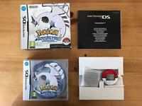 AVAILABL- Pokemon Soul Silver Limited Edition PokeWalker Complete 3DS DS