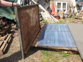 Garden Shed, 6' by 6', Apex Roof, Dismantled