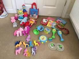 Huge girls toy bundle