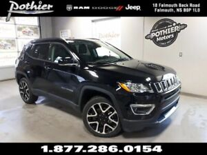 2018 Jeep Compass Limited   LEATHER   SUNROOF   8.4 TOUCHSCREEN