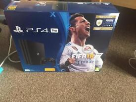 Ps4 pro new unopened £350