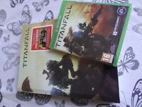 TITANFALL & COLLECTORS EDITION ORIGINAL GUIDE WITH DLC BUNDLE ALL NEW & SEALED / PAY PAL / FREE PST