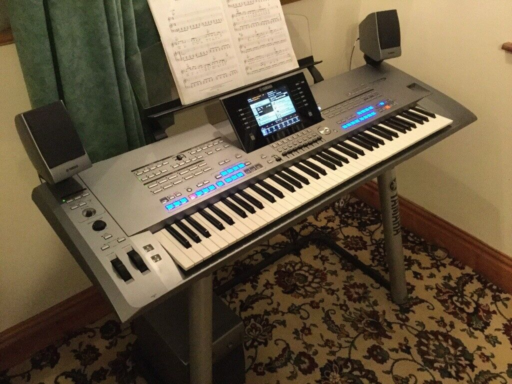 Yamaha tyros 5 76 note with ms05 speakers and sub for Tyros 5 yamaha