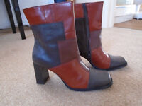 Ankle boots - leather brand new size 6