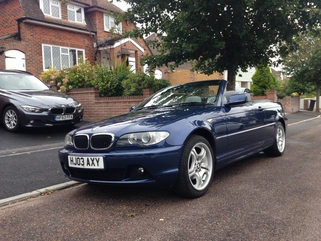BMW 318i convertible Manual 2 owners New MOT Grey Leather Sport Sport seats,