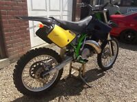 * 1994 KAWASAKI KX 250 2 STROKE SUPER EVO * MOTOCROSS KX250 125 CR YZ KTM *