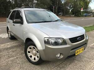 7 Seater 2007 Ford Territory TX Auto LOW KS LOGBOOKS MAGS TOW BAR Sutherland Sutherland Area Preview