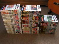 Naruto manga, volumes 1 - 51
