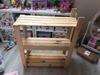 Free wooden storage unit